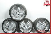 Mercedes S550 Cl550 R20 Wheel Tire Rim Set Of 4 Pc Staggered 8.5x10 Assembly