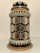 Reinhold Hanke Stein 1262 0.5l, Coins, Imperial Crowned Eagle Thumblift, Mint