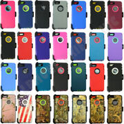 Wholesale Lot For Iphone 6 Plus 6s Plus Hard Rugged Case Cover With Belt Clip