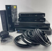 Lot Of Untested Cable Boxes, Routers / Modems And Laview Dvr | See Description