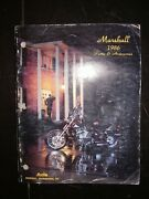 Vintage 1986 Marshall Motorcycle And Atv Parts And Accessories Catalog