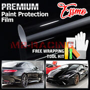 Ppf Paint Protection Film Gloss Black Vinyl Invisible Scratches Shield Sheet Diy