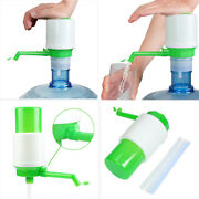 Hand Water Pump For Water Bottle Jug Manual Drinking Tap Spigot Camping 5/6 Gals