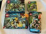 Lego Legends Of Chima Lot Of 4 70115 70126 70130 70203 Mix Of New And Used Sets