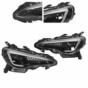 Led Headlight Assembly Projector Yaa‑ft86‑0297 Hight/low Beam Light For