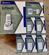 Intermatic Intouch Zwave Remote Control Ca5500br 4 Dimmers +ca900 + Ca3500