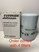 Omc Marine Oil Filter. Part 502903. Acquired From A Closed Dealership. See Pic.