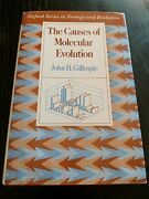 The Causes Of Molecular Evolution Hardcover By John H. Gillespie
