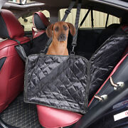 Universal Car Auto Suv Pet Dog Back Rear Seat Bench Mat Cover Waterproof