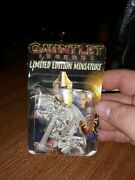 Midway Gauntlet Legends Limited Edition Pewter 5 Miniatures Dungeons And Dragons