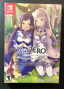 Rezero Starting Life In Another World The Prophecy Of The Throne Ce Switch New