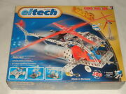 Nwt Eitech C73 Solar Power Helicopter Metal Building Kit Construction Toy German