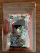 2020-2021 Leaf Metal Draft Werner Blakely Signature Red 2 Of 2 🔥 This Is A 10