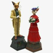 Studio Ghibli Whisper Of The Heart Music Box Baron And Luise Set Figure From Japan