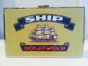 Anya Hindmarch Multicolor Ship Imperial Matchbox Clutch