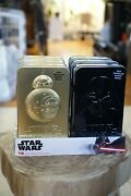 Star Wars Bb-8 Candy Tins With Milk Chocolate Hearts, 1.7 Oz [lot Of 6]