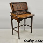 Theodore Alexander Officers And Gentlemen Campaign Desk Burl Wood English Style