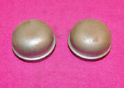 1964-73 Mustang Gt Mach 1 Shelby Cougar Xr7 Eliminator Nos Front Hub Grease Caps
