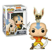 Pop Animation - Avatar- Aang With Momo 534