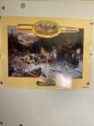 Vintage Remington 10th Anniversary Bullet Knife Poster Mint Condition 1992
