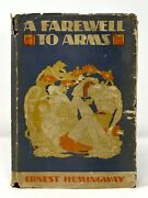 Ernest Hemingway - A Farewell To Arms - 1st 1st 1st State Book And Dj - Wwi - 1929