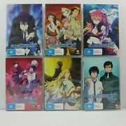Blue Exorcis Vol 1-6 Episodes 1-25   Dvd   R4   Madman   Anime   Great Cond