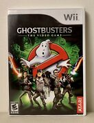 Ghostbusters The Video Game Nintendo Wii, 2009 Complete With Manual
