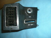 Nos 75 76 Amc Pacer Left Side Dash Bezel At Lights Wipers And Duct With Louvers