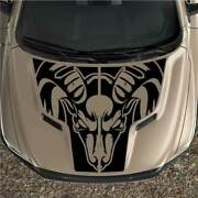 Fits Ram Rebel 1500 Sport Tribal Hood Truck Graphic Decal Vinyl Black Out 2pc