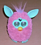 2012 Furby Pink And Mint Green Talking Interactive Toy Hasbro Tested Working