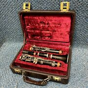 Buffet Crampon R13 Wooden Clarinet W/ Original Case And Mouthpiece