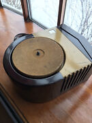 Rca Victrola Model E63 78 Rpm Record Player Art Deco 1946 Sweet Plays Nice