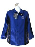 Bsx Welding Jacket Blue And Black Small Nwt