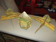 Lionel Toy Corp 6 Piece Scenic Cardboard Mountains 1960's O Ga/ho/slot Cars