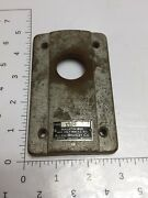 Vintage Allen-bradley Cast Iron Cover Plate Isd4 Used