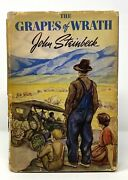 John Steinbeck - Grapes Of Wrath - 1st 1st W/ First Edition Dj - Pulitzer Prize