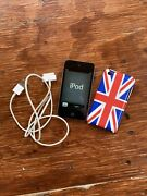 Apple Ipod Touch 4th Generation 32 Gb With Charger Cable And Case Bundle