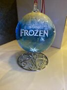 Disney Frozen Ornament Blown Glass Collection By Arribas Brothers