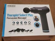 Homedics Therapist Select Plus Percussion Massager 6 Attachments With Case