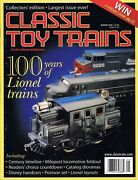 Classic Toy Trains Jan 2000 Lionel 100 Years Gilbert American Flyer Train Sets