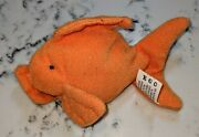 Rare Goldie The Gold Fish Ty Teenie Beanie Baby - Mcdonald's Happy Meal Toy