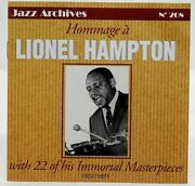 Cd Lionel Hampton Hommage Jazz Archives No 208 Aad French Import 1937 To 1951