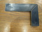 Antique Stanley Try-square 6 Wood And Brass Carpenterand039s Woodworking Tools Pa. 98