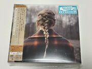 Taylor Swift Evermore Japan Cd +4 Deluxe [calendar Postcard] Sealed