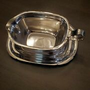 Reed And Barton 1941 Sterling X550 Mayflower Gravy Boat And Drip Tray 11.7oz / 332g