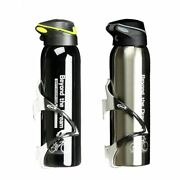 Mountain Bike Sports Water Bottle 500ml Aluminum Thermos Keep Warm Water Cup