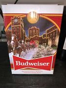 2020 Budweiser Holiday Stein Brewery Lights 41st Anniversary Edition Clydesdale