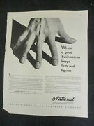 Vintage Print Advertisement National Cash Registers Accounting Bookkeeping 56