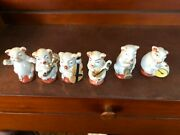 Made In Japan Musical Animals Figurines Set Of 14
