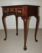 Councill Craftsmen Banded Mahogany Small Lowboy Chest, Hall Console, Nightstand